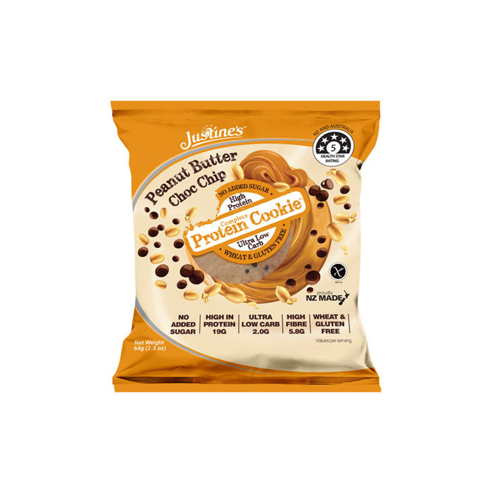 Justine's Complete Protein Cookie, 64g