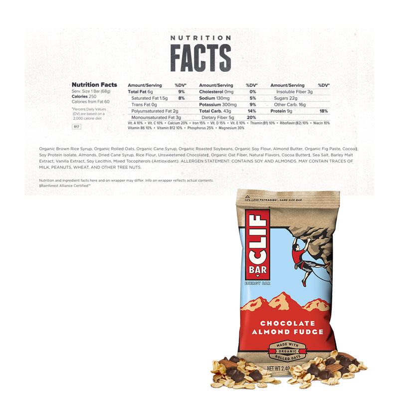 Clif Bars, Box of 12