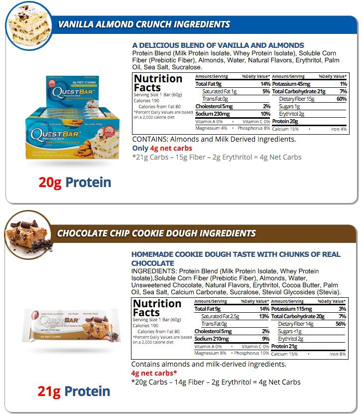 Quest Protein Bars, Mix and Match 12