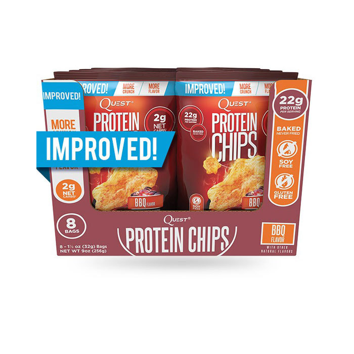 Quest Protein Chips 8 pk/box