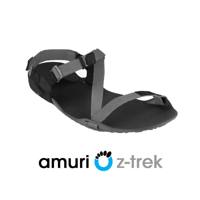 Xero Shoes Z-trek Sports Sandal (Men), Coal Black + Black