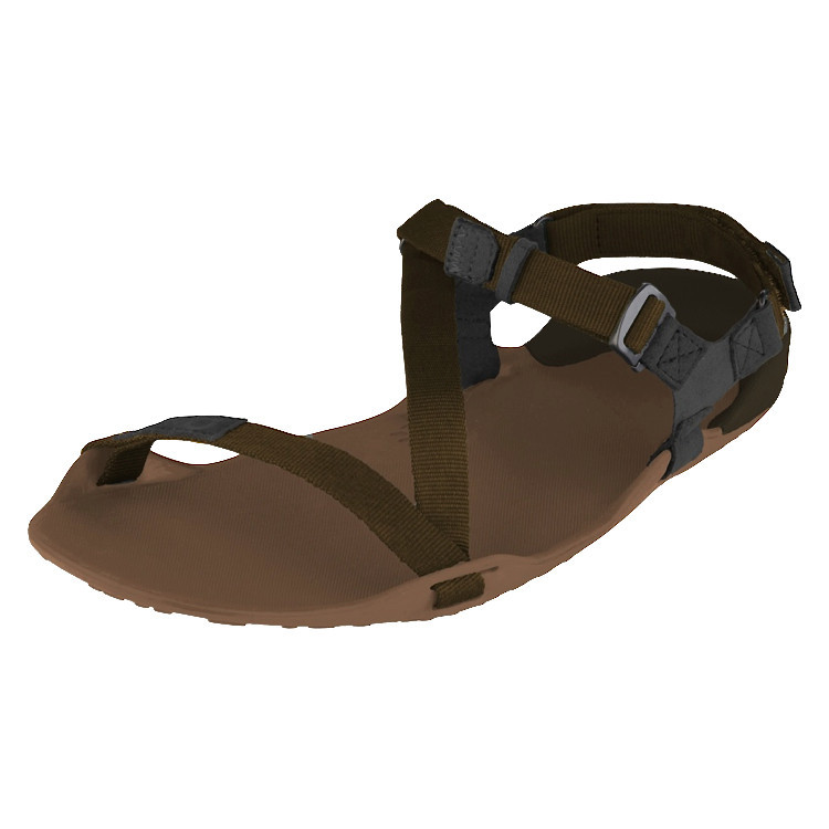 Xero Shoes Z-trek Sports Sandal (Men), Mocha Earth + Black