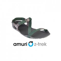 Xero Shoes Z-trek Sports Sandal (Men), Charcoal + Hunter Green