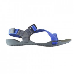 Xero Shoes Z-trek Sports Sandal (Women), Charcoal + Patriot Blue